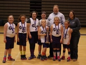 Team Ray, GCRPD 2015-16 10G Runner-Up. (Photo by: Kevin Hensley)
