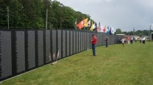 Open 24 hours a day, the traveling tribute has Lion's Club members between 9 am and 6 pm to help you find specific names.