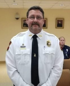 Keith Kucera, Public Safety Director of Gilmer County
