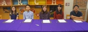 2019 REACH Signing Student Scholars