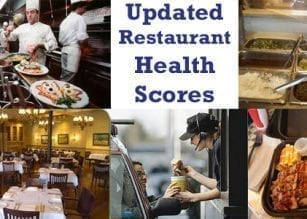 Gilmer County Restaurant Health Scores Through May 20th