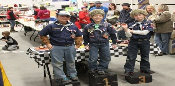Pack 404 Held Annual Pinewood Derby