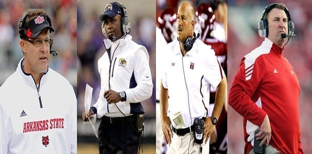 Hello, I Must Be Going: Four FBS Coaches Head for Greener Pastures