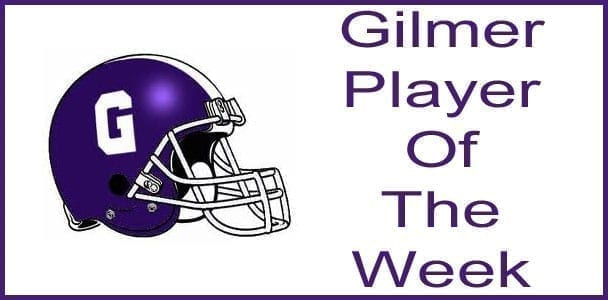 Gilmer Player Of The Week: Austin Cole
